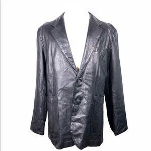 Deerskin Genuine Leather Blazer Jacket